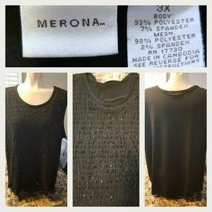 Merona Plus Size 3x Women's Dressy Tank Top
